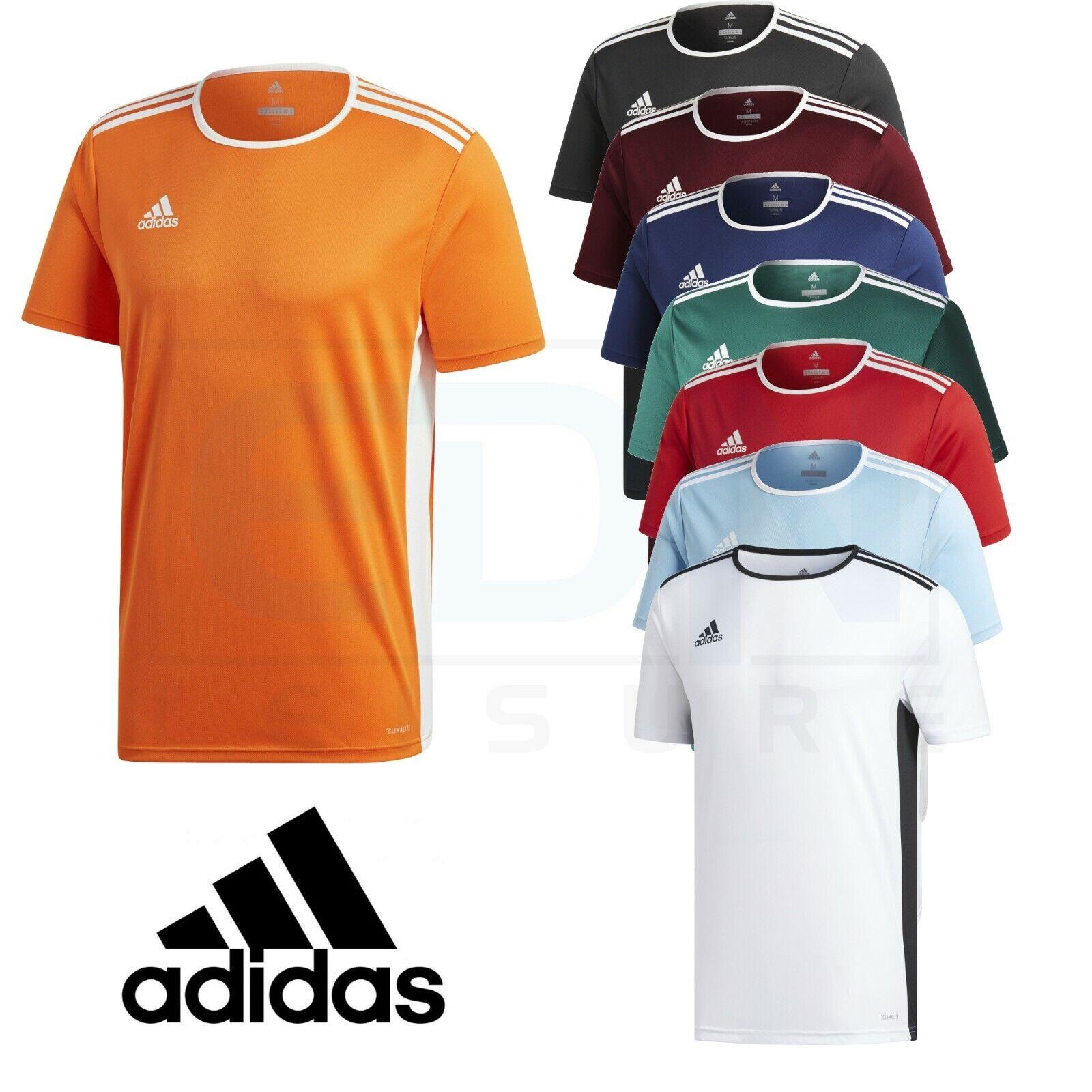 Detalles de Adidas para hombre Camiseta Top Entrenamiento Fútbol Gimnasio Climalite entrada Talla M L XL XXL ver título original