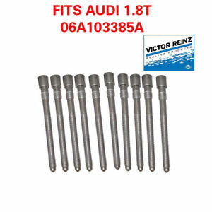 AUDI TT 1.8 T TURBO  CYLINDER HEAD BOLTS 06A103385A 2001 2005  AWP AMU ENGINES
