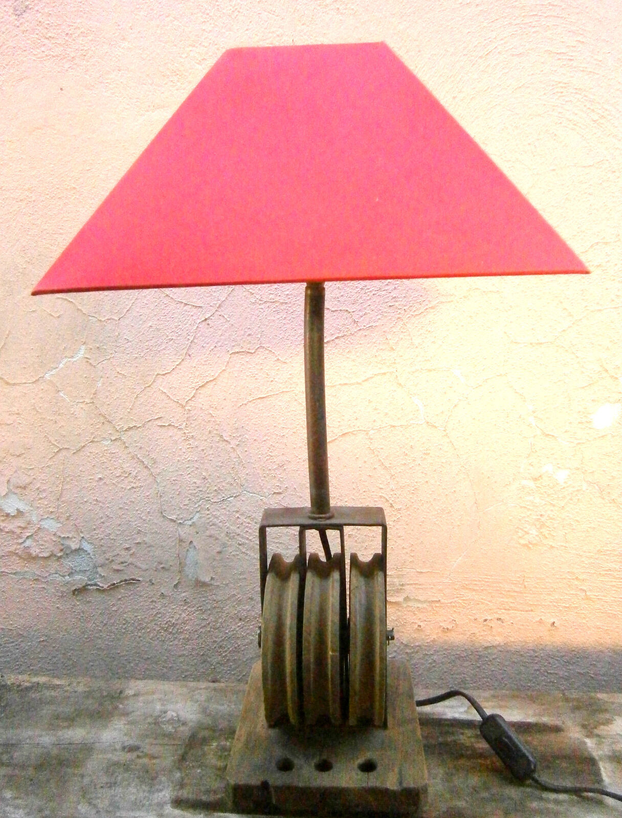 GRANDE LAMPADA DA TAVOLO