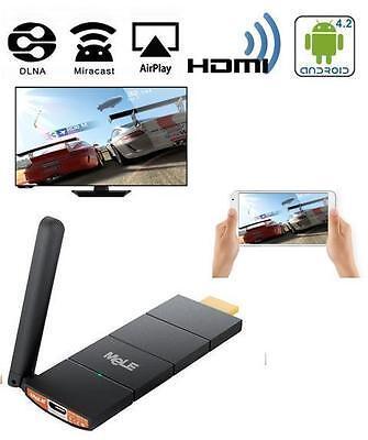 ADATTATORE SMART TV Pe HUAWEI  P6 P7 P8 MINI WI-FI HDMI SENZA FILI  MELE CAST S3