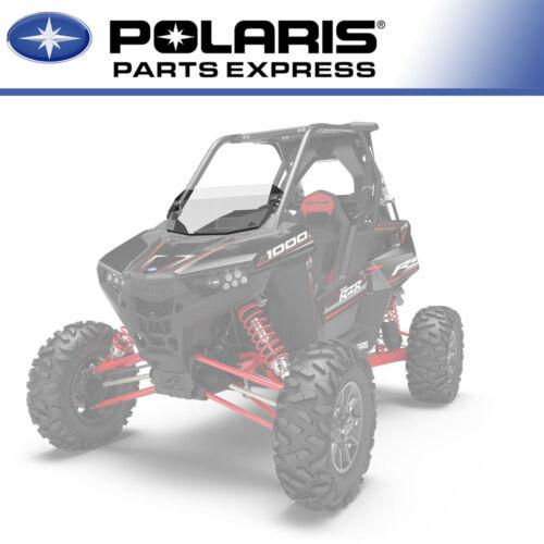 NEW OEM POLY LOCK AND RIDE HALF WINDSHIELD 2018 POLARIS RZR RS1 2882704