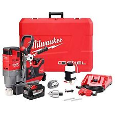 Milwaukee 2788 22hd M18 1 12 Lineman Magnetic Drill Kit