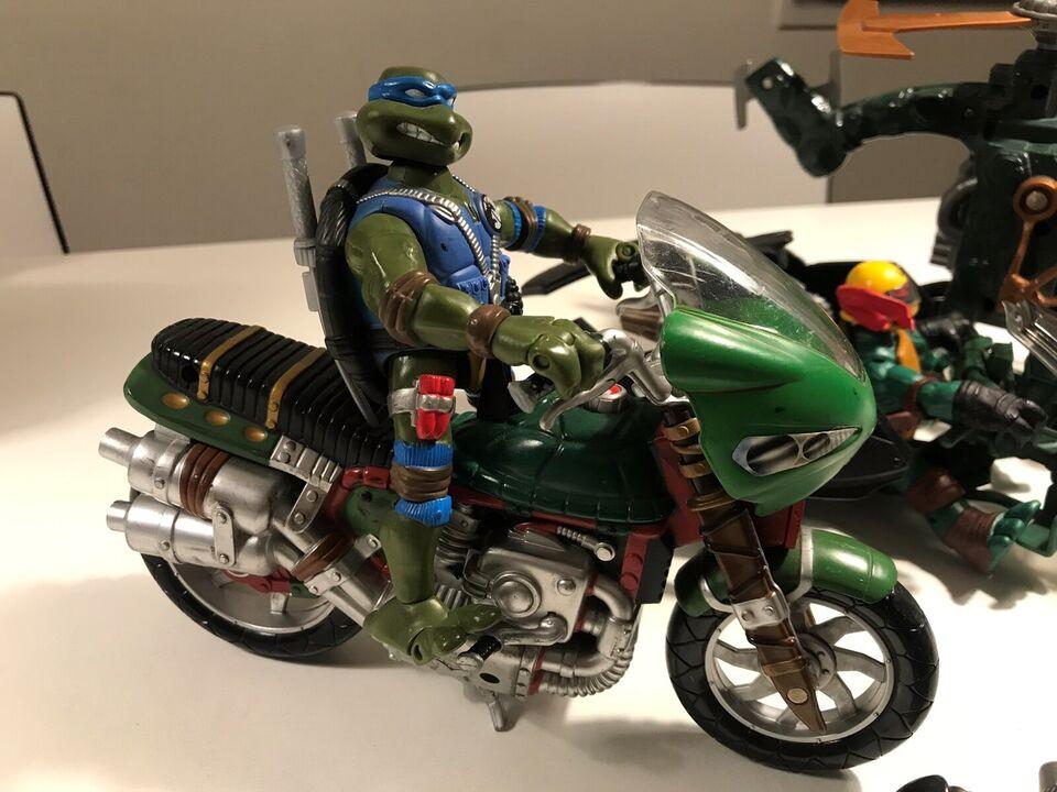 Ninja Turtles og actionfigurer