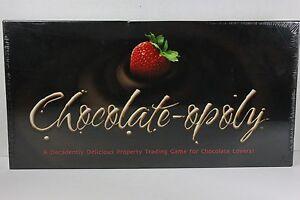 Nouveau jeu de société Chocolate Opoly Monopoly Theme Lovers Chocolateopoly