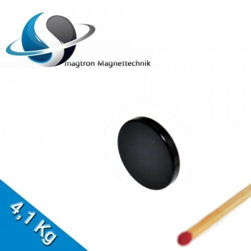 Epoxy 5 NEODYM MAGNETE Ø20x3 mm NdFeB N45 Scheibenmagnete Schwarz