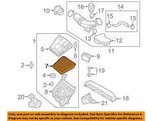 Stupendous Details About Hyundai Oem 09 14 Genesis Engine Air Filter Element 281133M100 Wiring Cloud Planhouseofspiritnl
