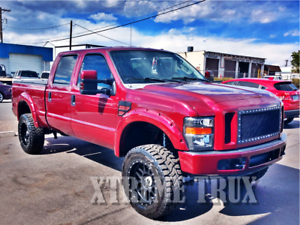 Painted Color Matched Pocket 08 10 Ford F250 F350 Bolt On Rivet Fender Flares Ebay