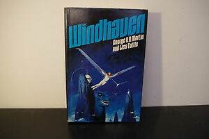 Windhaven-by-George-R-R-Martin-and-Lisa-Tuttle-1981-Vintage-Sci-Fi-1st-BCE