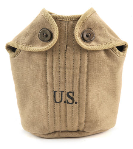 US WW2 M1910 Canteen Cover Khaki marked JT/&L 1942