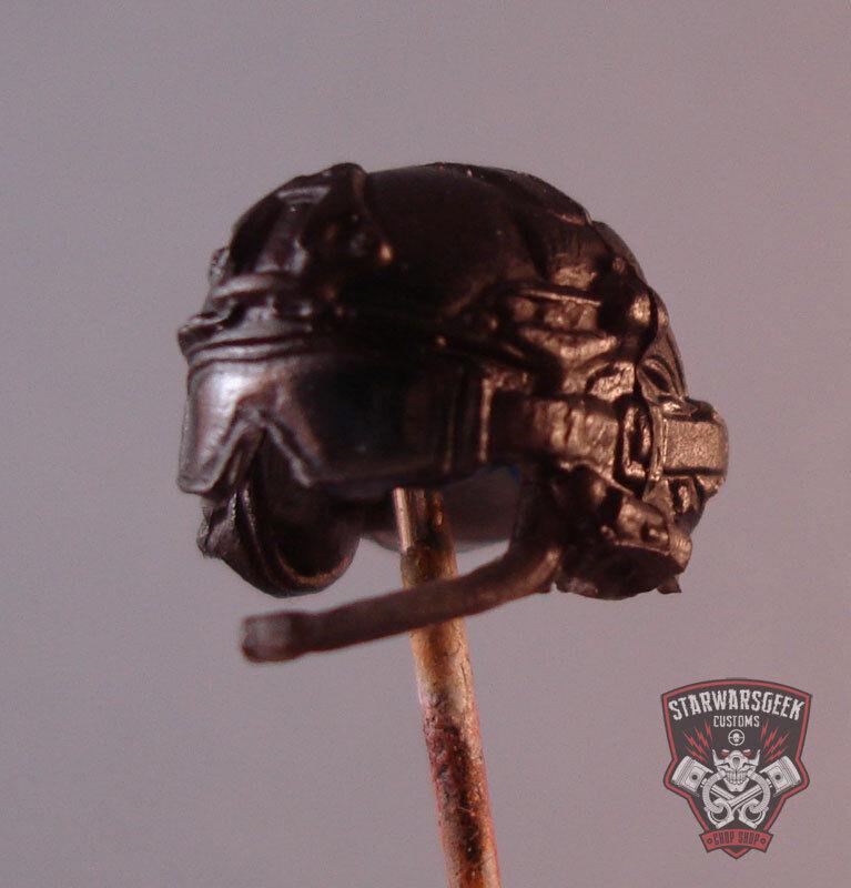 """Helm 05 Custom Cast Figure Casque pour utiliser avec 3.75/""""1:18 Gi Joe Pluie acide militaire"""