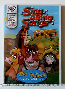 Details About Disney Karaoke Sing Along Songs Dvd Home On The Range And Other Classic Songs
