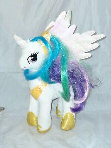 My Little Pony Ty Plush Toy Ponies Celestia  MLP 2016 Horse Unicorn Winged
