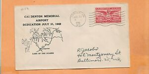 Primer Vuelo Dedicación Camdenton MO Conmemorativo Aeropuerto Julio 31,1949