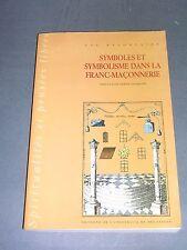 Franc Maçonnerie Symboles et Symbolisme dans la Franc-Maçonnerie 1994