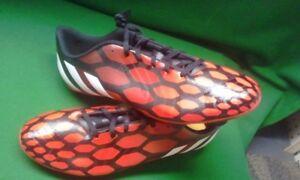 Adidas Predito Instinct FG Soccer Cleats Mens 12 M17656 Red   Black ... ebda18fde5f3a