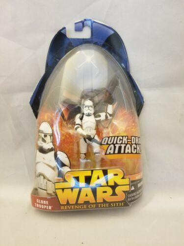 Star Wars Revenge of the Sith Clone Trooper Super Articulation Hasbro MOC
