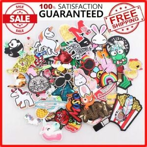 30-Pcs-Random-Patches-lot-Girls-Kids-Iron-On-For-Clothing-Applique-Sticker-DIY
