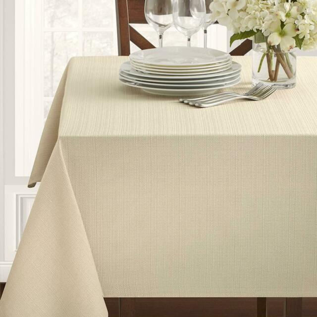 18 X 18 Napkins Set of 4, Flax Benson Mills Beauvalle Extra Wide Spillproof Napkins
