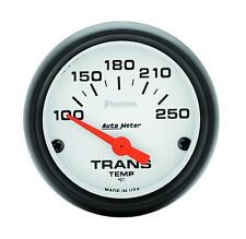 AutoMeter Phantom 52mm Electric Transmission Temperature 100-250 Deg F Gauge