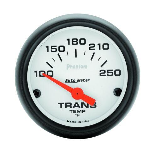 AutoMeter Phantom 52mm Electric Transmission Temperature 100-250 Deg F Gauge