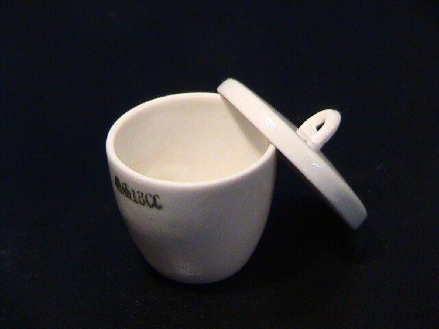 Schmelztiegel Porzellantiegel Tiegel Porcelain Crucible