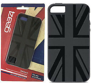 Veritable-Gear4-UnionJack-IC516G-etui-protection-coque-pour-IPhone-5-5S-Noir