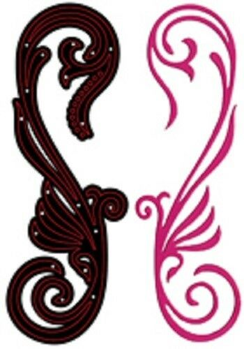 Crafts Too CUTTING AND EMBOSSING STENCILS Dies CTD17020 ART DECO