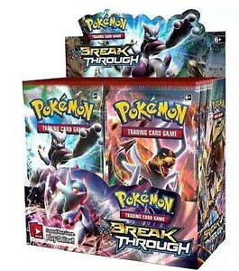 1 Pokemon TCG 1x Breakthrough Booster Pack Factory Sealed