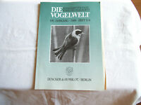 Zeitschrift: Die Vogelwelt. Heft 5/6, 1988