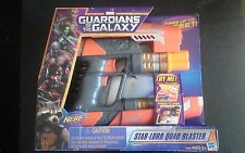 "NERF Marvel Guardians Of The Galaxy ""Star Lord Quad blaster"""