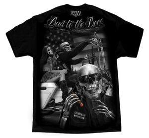 DGA-David-Gonzales-Ride-or-Die-Art-Bad-to-the-Bone-Motorcycle-Skeletons-T-Shirt