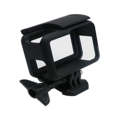 Lente Tapa para GoPro Hero 7 6 5 accesorios de la Cámara PC Cubierta Estuche Marco proteger