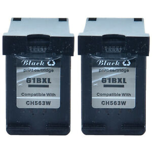 1PK Compatible with Black Ink for HP 61XL Officejet 2620 4630 4632 4635
