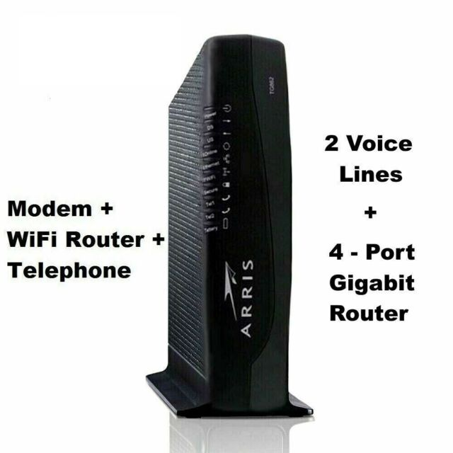 Arris Touchstone TG862G DOCSIS 3.0 Residential Gateway WiFi 802.11n Router