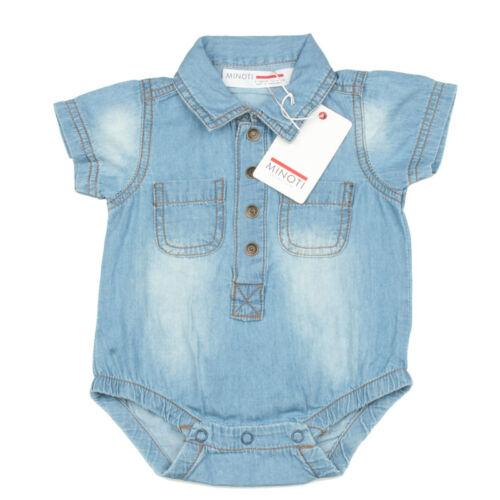 Babykleidung Baby Jeans Body 100/% Baumwolle von Minoti für Mädchen Jungen