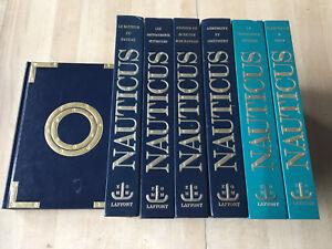 lot 7 livres NAUTICUS - encyclopédie pratique du bateau - Gérard Borg