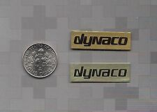 NEW pair of dynaco Speaker  Badge Logo Emblem Label A-25 A-25XL A-10 A-35 A-40XL