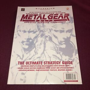 EX-COND-Metal-Gear-Solid-Official-Mission-Handbook-ULTIMATE-STRATEGY-GUIDE-PS1