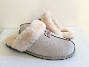 1bcd3900821 Details about UGG SCUFFETTE II SNAKE CERAMIC WOOL SLIPPERS US 12 / EU 43 /  UK 10.5 NIB