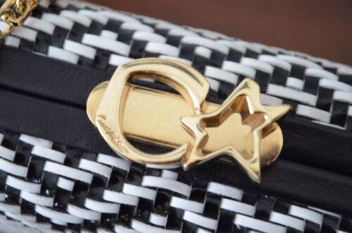 hombro eslabones en dorado Corto de con negro de 1325 cadena blanco cuero Bolso Moltedo vqn8Z