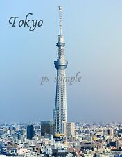 Japan - TOKYO SKY TREE - Travel Souvenir Fridge MAGNET
