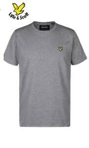 PROMOTION-DE-RENTREE-Tee-shirt-manches-courtes-homme-de-marque-Lyle-amp-Scott