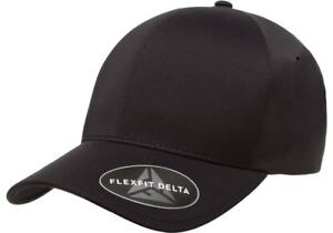 L XL White Solid Blank Plain Flex Curved Baseball Ball Fit Fitted Cap Hat