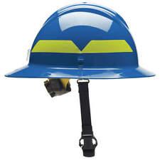 Bullard Fhblr Fire Helmetbluethermoplastic