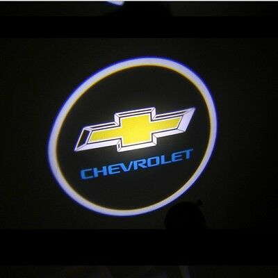 GSL Ghost Shadow Chevrolet logo LED Door Light For 06 07 08 09 10 Chevy Captiva