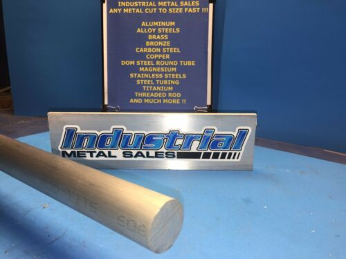 "7//8/"" Dia x 72/""-Long  6061 T6511 Aluminum Round Bar--/>.875/"" Dia 6061 T6511 Rod"