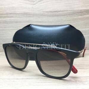 5762b940fa3 Carrera 154 S 154 S Sunglasses Matte Black Gold Red 003HA Authentic ...