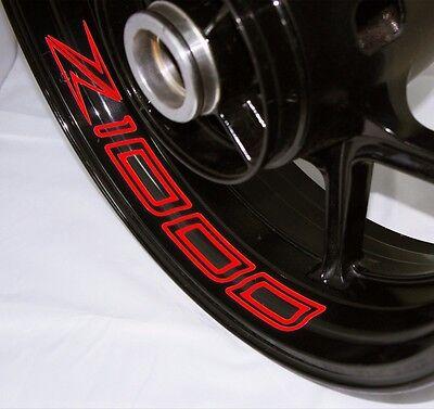 Kawasaki Z1000 2014 Inner Rim Motorcycle Sticker Stripe Decal SVIRS-US