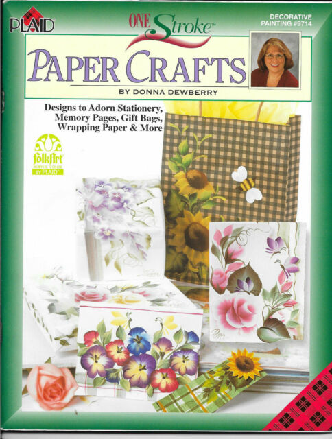 Paper Crafts Donna Dewberry One Stroke 9714 Painting Book Patterns