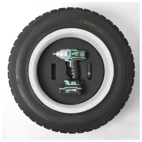 Kielder Race Rally Car Spare Wheel 1//2 Inch Impact Wrench Holder 15 Inch